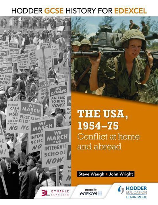 Boek cover Hodder GCSE History for Edexcel: The USA, 1954-75: conflict at home and abroad van John Wright (Onbekend)