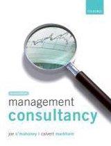 Boek cover Management Consultancy van Joe OMahoney