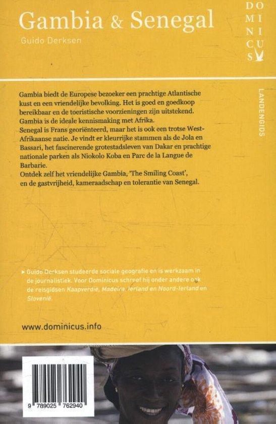Dominicus landengids  - Gambia en Senegal - Guido Derksen