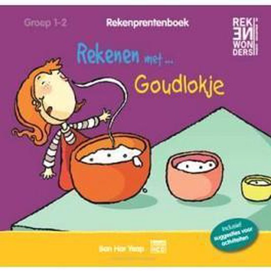 Rekenprentenboeken - Rekenen met goudlokje Groep 1-2 - Ban Har Yeap |