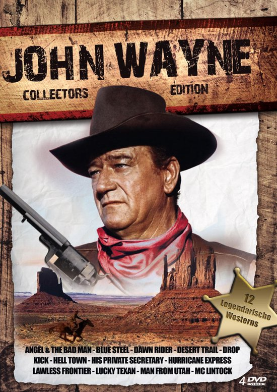Cover van de film 'John Wayne Boxset'