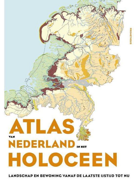 Boek cover Atlas van Nederland in het Holoceen van Peter Vos (Hardcover)