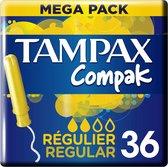 Tampax Compak Regular Tampons - 36 Stuks - Met Inbrenghuls