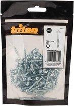 """Triton Zinken pocket boring schroeven met sluitring kop, grof P/HC 8 x 1-1/2"""" 100 stuks"""