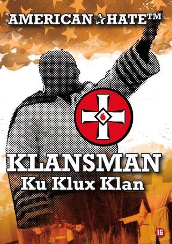 Cover van de film 'American Hate - Klansman Ku Klux Klan'