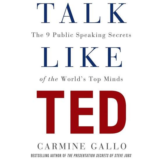 Boek cover Talk Like TED van Carmine Gallo (Onbekend)