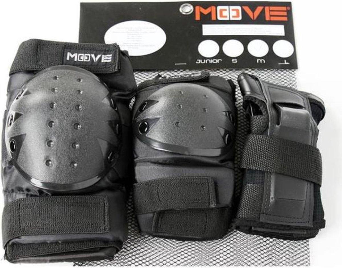 Beschermset Move - Zwart - SMAL