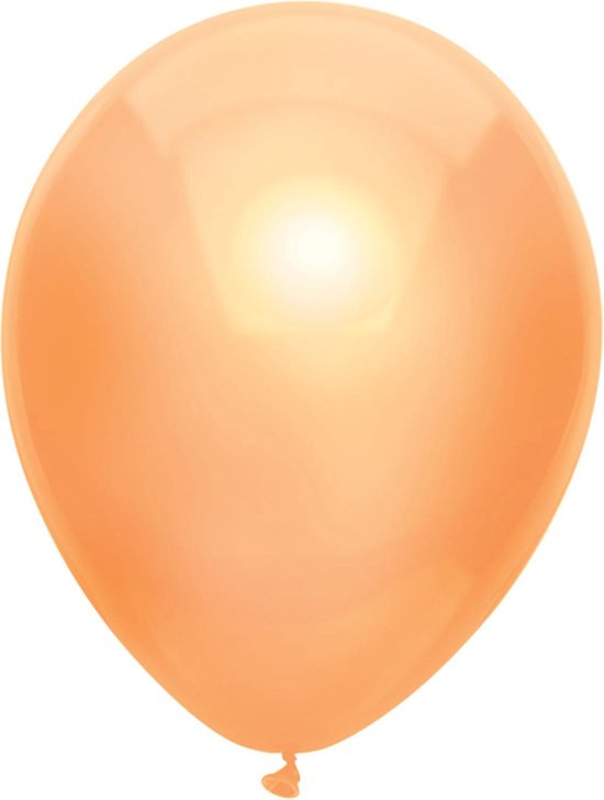 Ballonnen Metallic Peach (10ST)