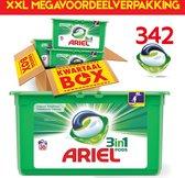 XXL 342 PODS Megavoordeelverpakking | Jaarpakket | Ariel Original Pods Capsules | 342 wasbeurten | Wasmiddel jaarpakket | Bekend van TV