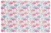 Set van 4 Stuks Placemats Flamingo - Wagon Trend