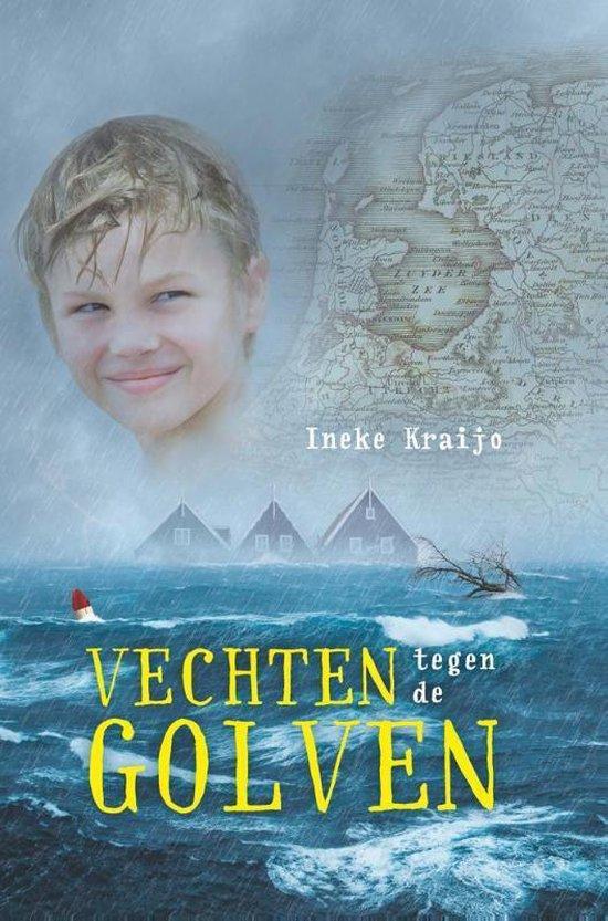Boek cover Vechten tegen de golven van Ineke Kraijo (Hardcover)
