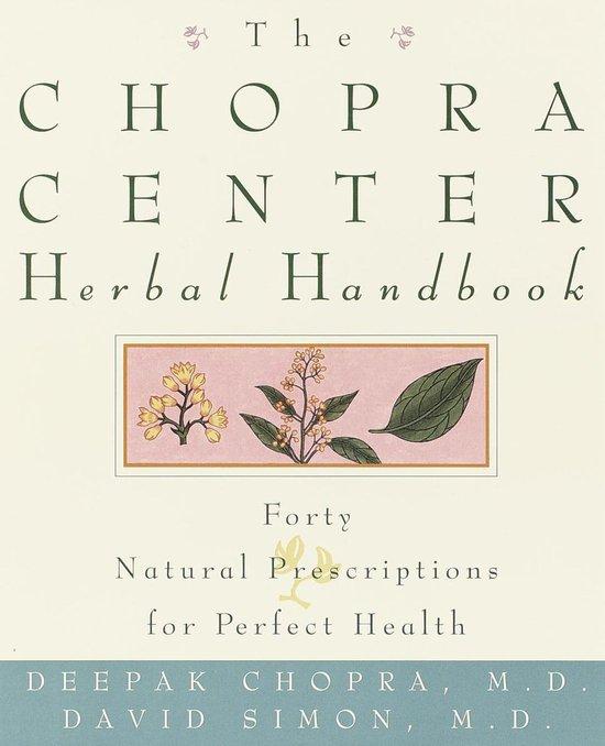 Boek cover The Chopra Center Herbal Handbook van David Simon (Onbekend)