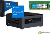 Webdexter® Intel® NUC Kit Celeron J3455 | 4GB DDR3 | 240GB SSD | WIN10 Home