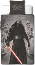 Disney Star Wars Epic 7 Master Dekbedovertrek - 140 x 200 cm + 1 kussensloop 60x70 - Grijs