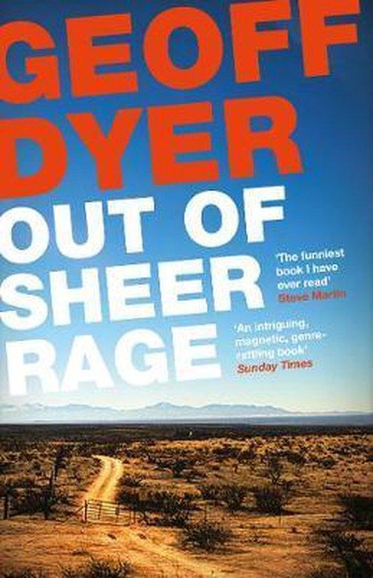 Boek cover Out of Sheer Rage van Geoff Dyer (Paperback)