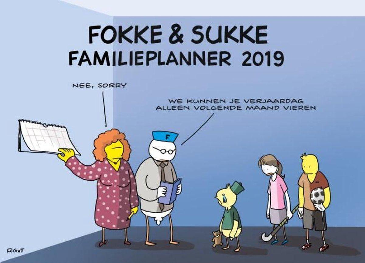 Fokke & Sukke familieplanner 2019 - John Reid