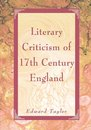 Literary Criticism of 17Th Century England