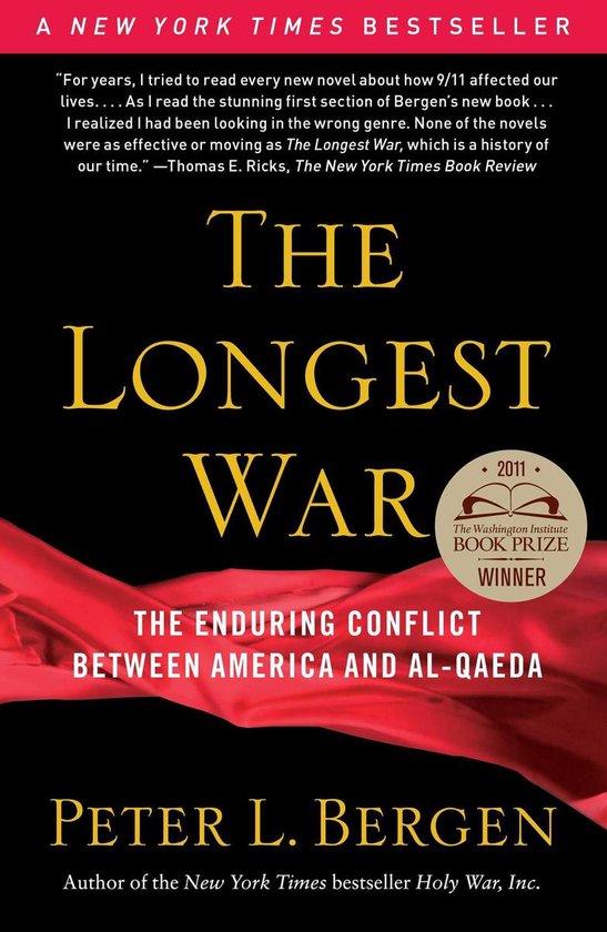 Boek cover The Longest War van Peter L. Bergen
