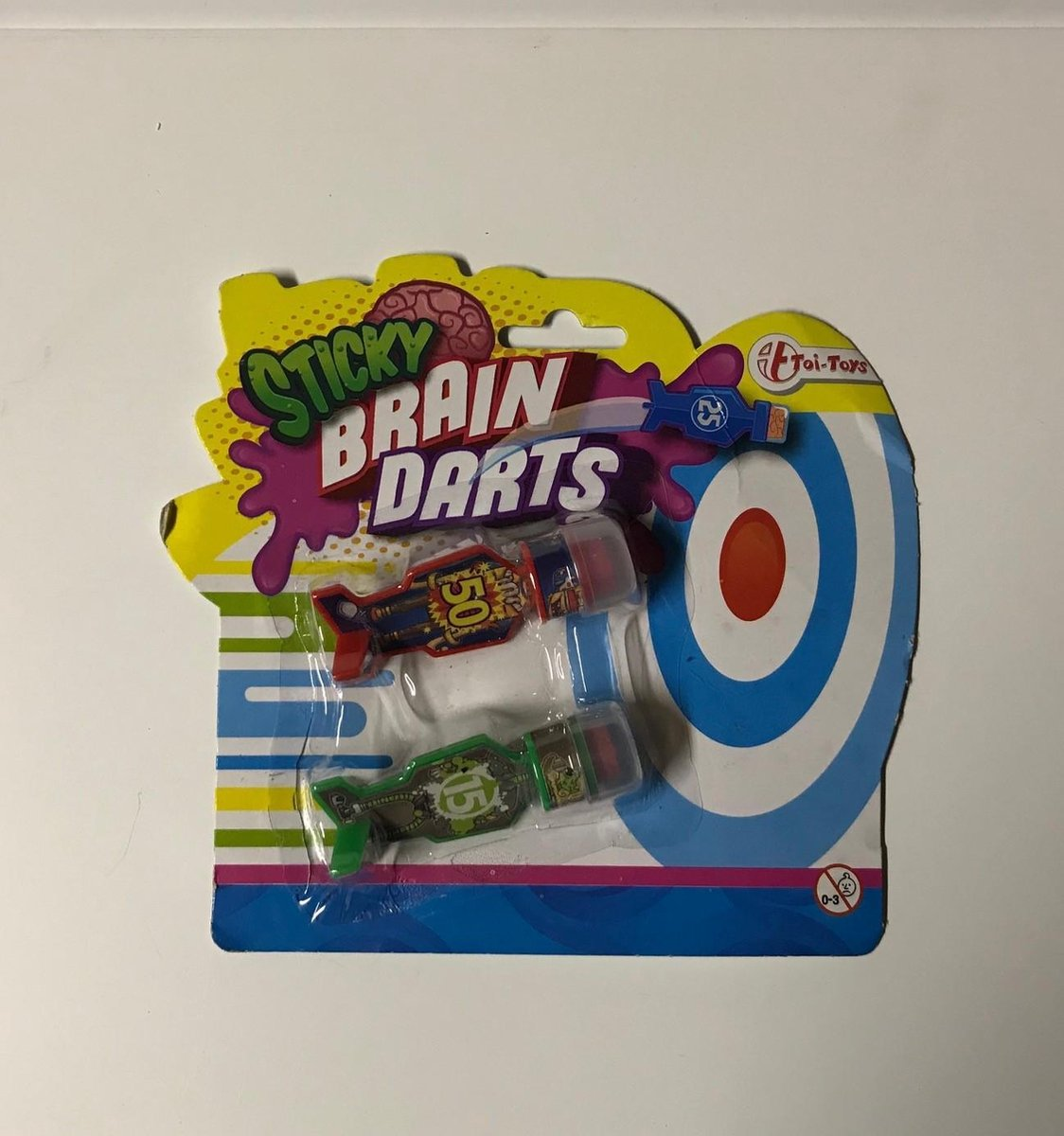 Sticky Brain Darts Rood/ Groen