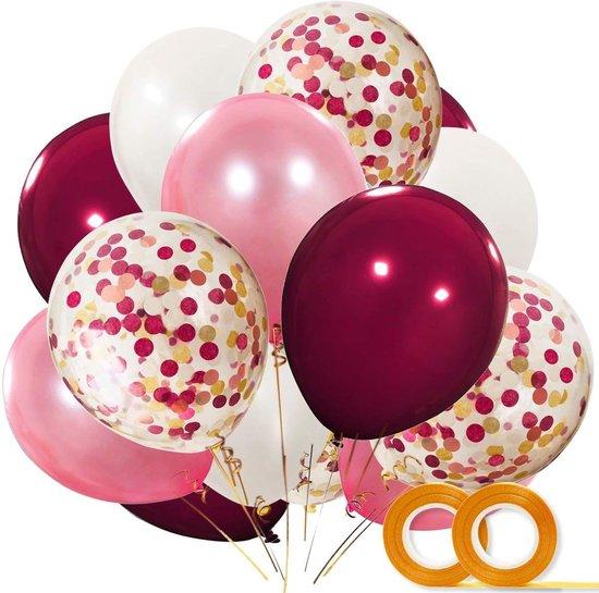 Uitgelezene bol.com | Partizzle® 40x Roze Verjaardag of Bruiloft Confetti OU-49