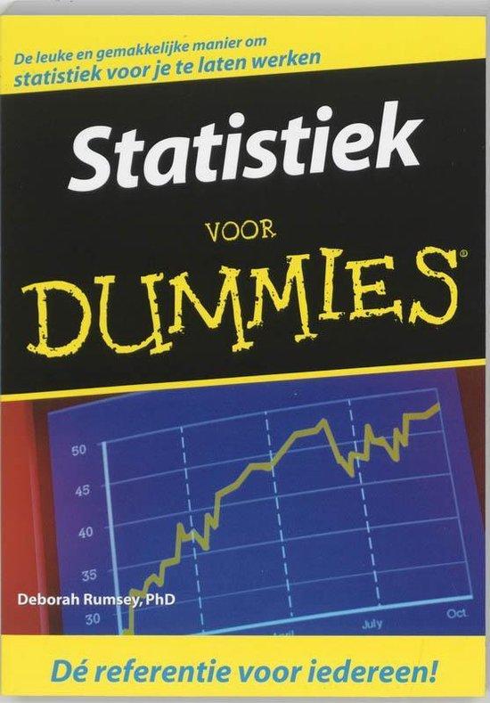 Statistiek voor Dummies - D. Rumsey