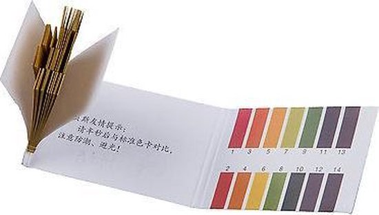 PH teststrips / Lakmoes strips (2 boekjes x 80stuks)