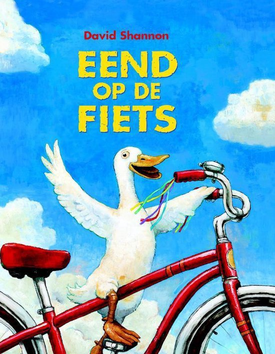 Eend op de fiets