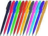 Pentel - Sign S520 - 12 kleuren - in Etui