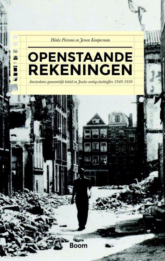 Boek cover Openstaande rekeningen van Hinke Piersma (Onbekend)