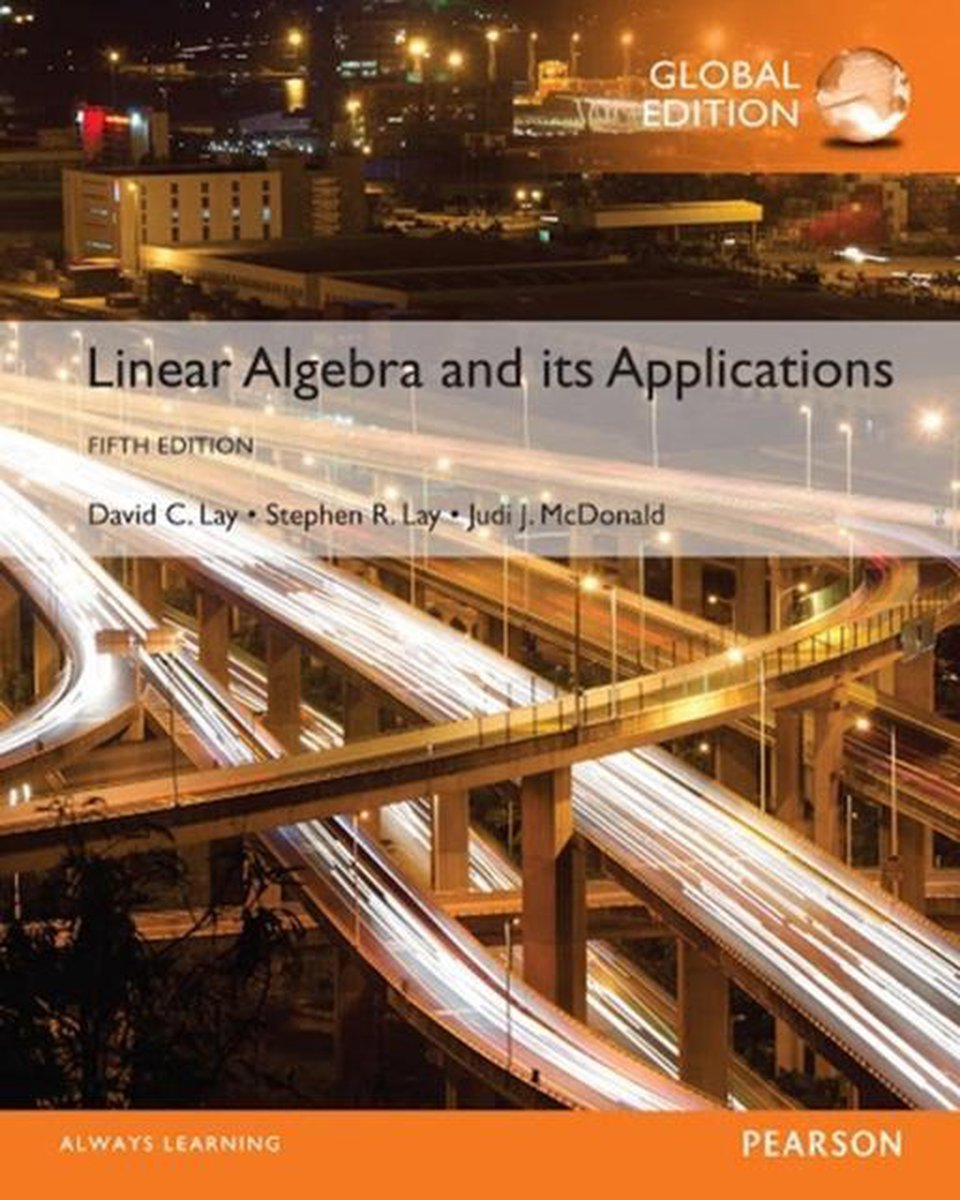 Linear Algebra and Its Applications, Global Edition - David C. Lay