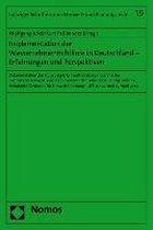 Implementation der Wasserrahmenrichtlinie in Deutschland - Erfahrungen und Perspektiven