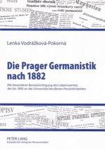 Die Prager Germanistik Nach 1882