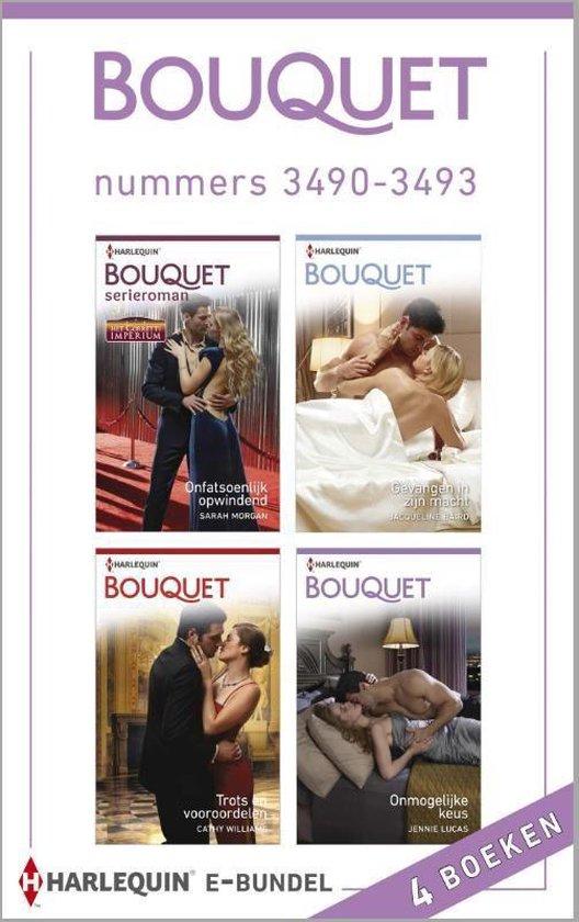 Bouquet e-bundel nummers 3490-3493, 4-in-1 - Sarah Morgan  