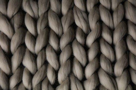 Merino Wol, Australië – 21 micron - lontwol – 1 KG – XXL Wol, chunky - Pearl