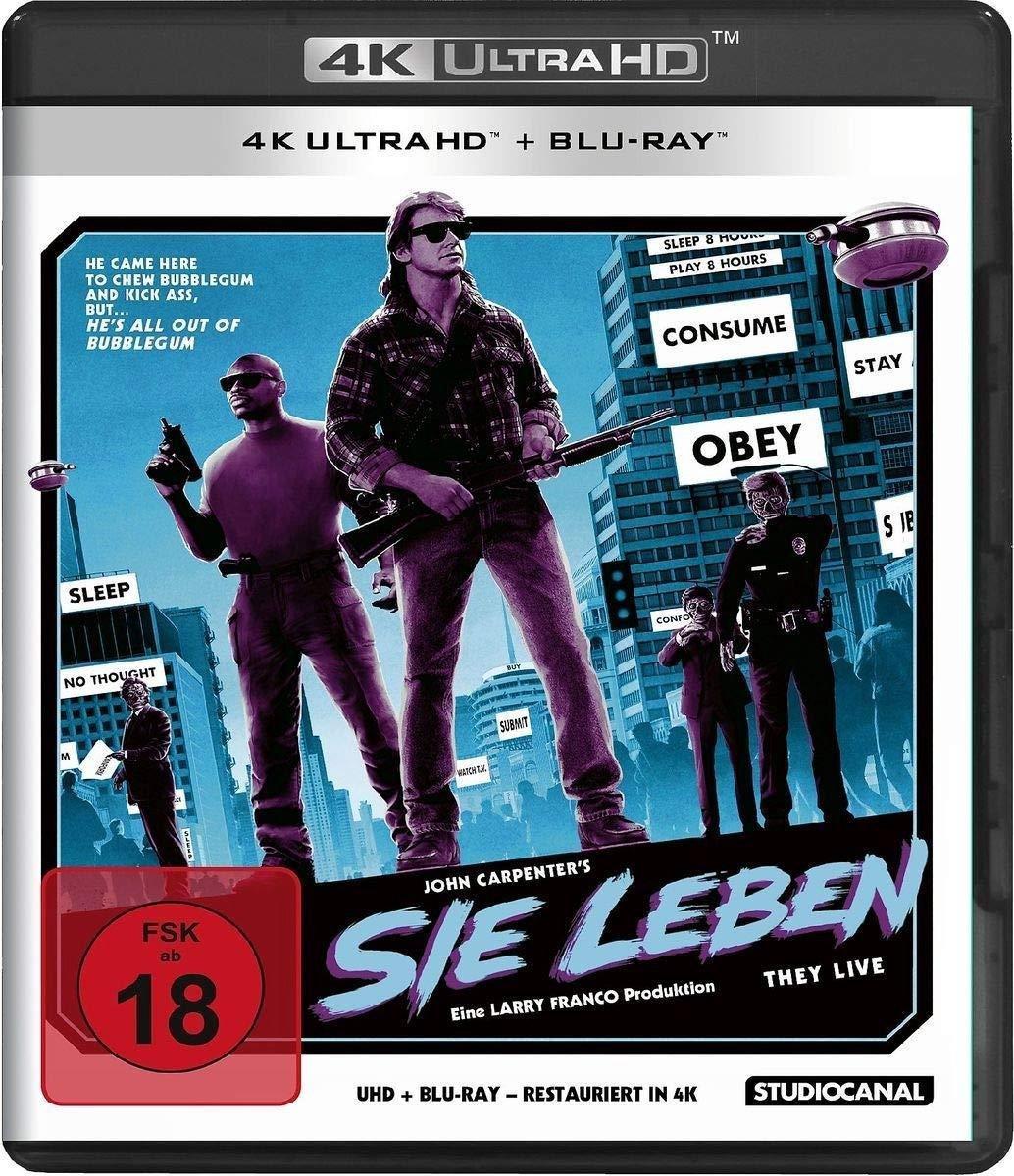 They live! (1988) (Ultra HD Blu-ray & Blu-ray)-