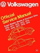 Volkswagen Super Beetle, Beetle & Karmann Ghia (Type 1) Official Service Manual 1970-1979