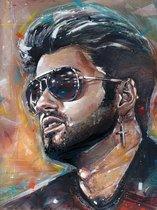 George Michael canvas (40x60cm)