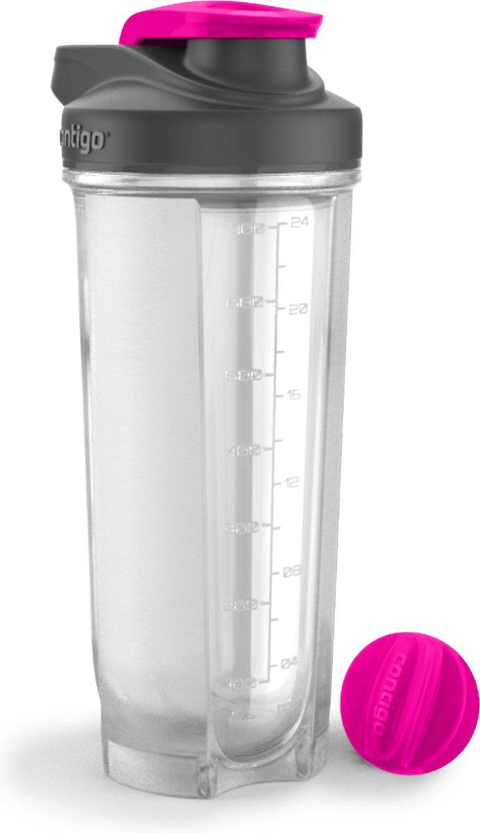 Shake & Go Fit proteine shaker 820 ml  - Contigo - Neon Pink - Contigo