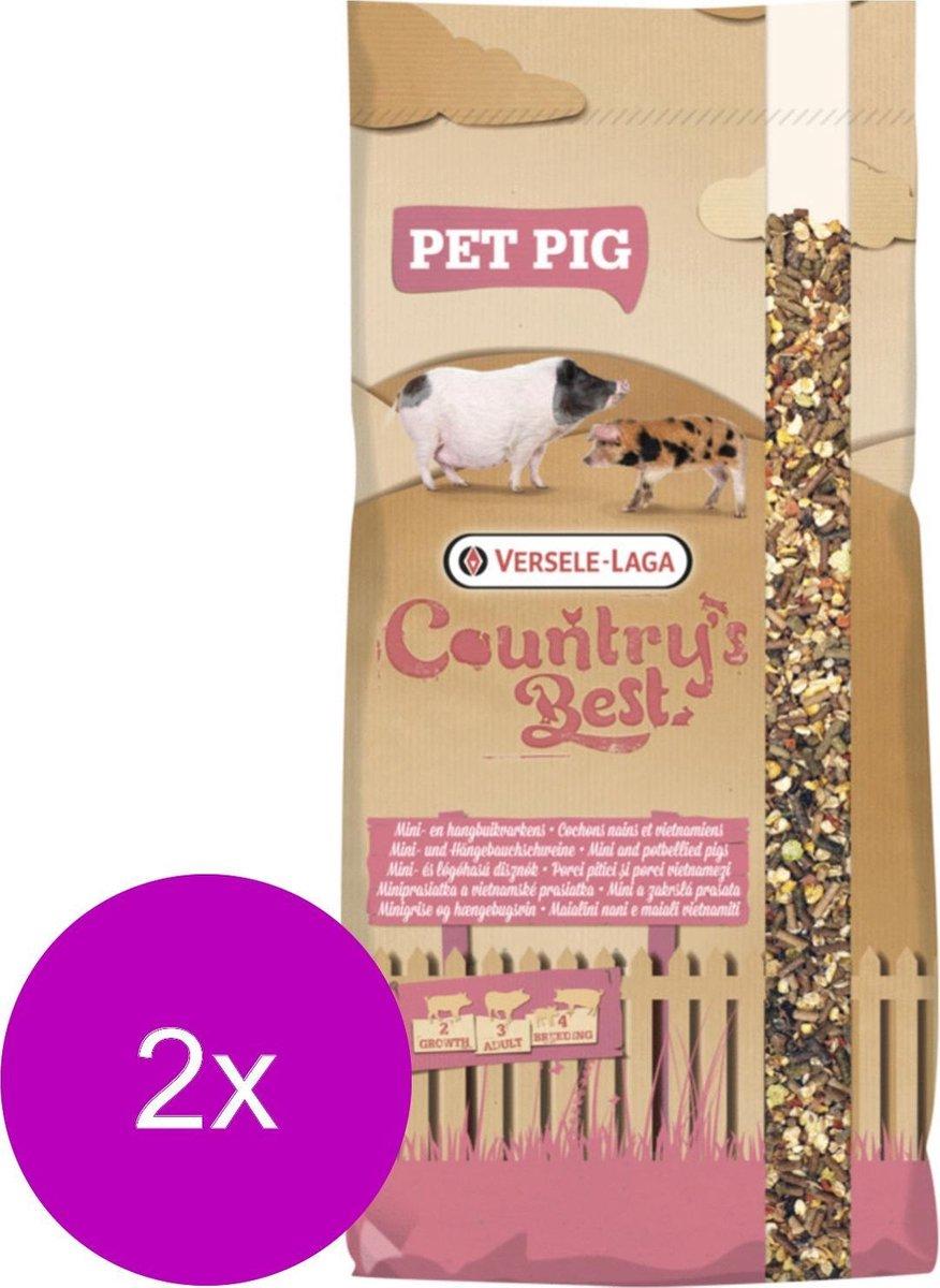 Versele-Laga Country's Best Pet Pig Muesli Hobbyvarkens - Erfdiervoer - 2 x 17 kg