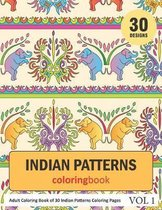 Indian Patterns Coloring Book