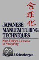 Japanese Manufacturing Techniques