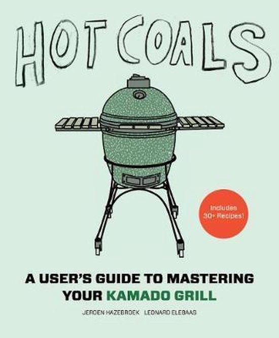 Boek cover Hot Coals van Jeroen Hazebroek (Hardcover)