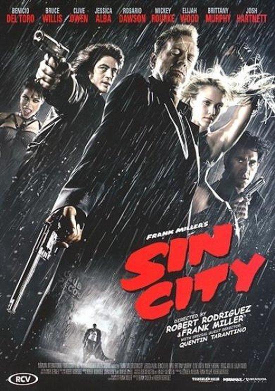 Cover van de film 'Sin City'