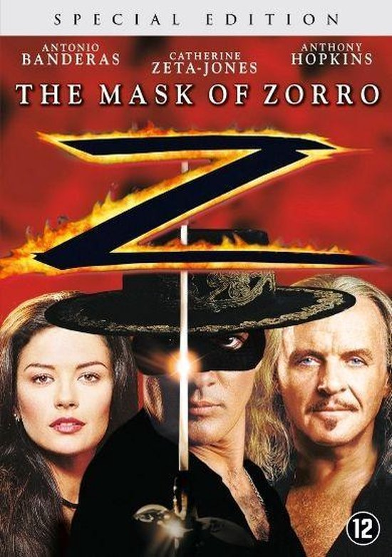 Cover van de film 'Mask Of Zorro'