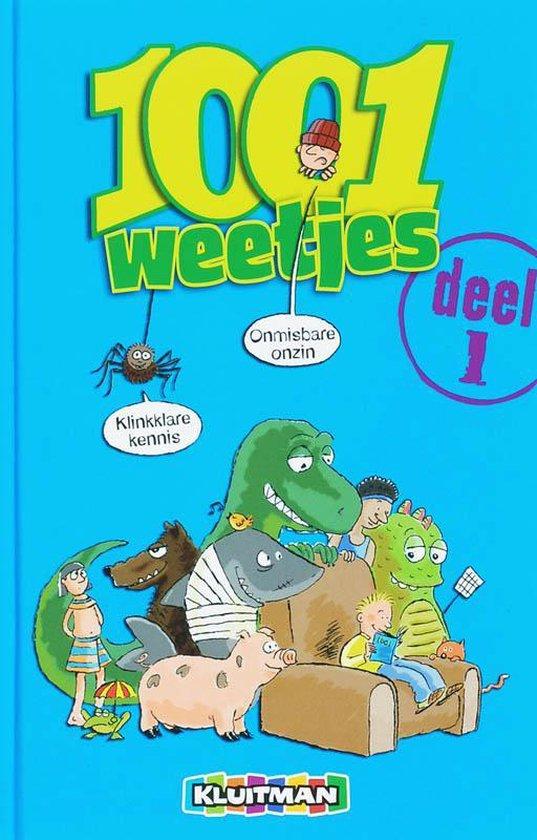 Cover van het boek '1001 weetjes' van Sheena Barnes en M. Morgan