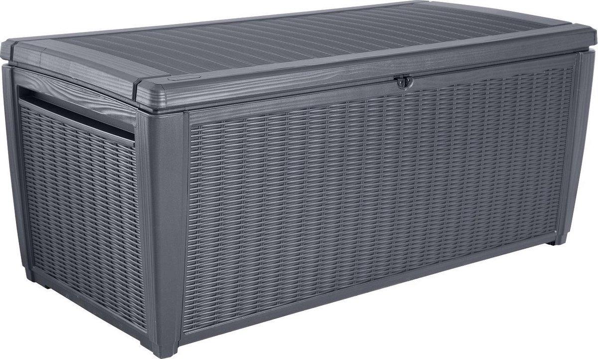 Keter Sumatra Opbergbox 510 liter 145x64x73cm Grafiet online kopen