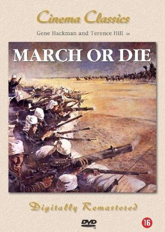 Cover van de film 'March Or Die'