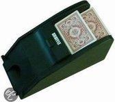 Kaartschudmachine met kaartenslof