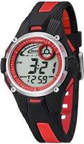 Calypso K5558/5 digitaal horloge 36 mm 100 meter zwart/ rood