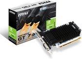 MSI N730K-2GD3H/LP NVIDIA GeForce GT 730 2 GB GDDR3